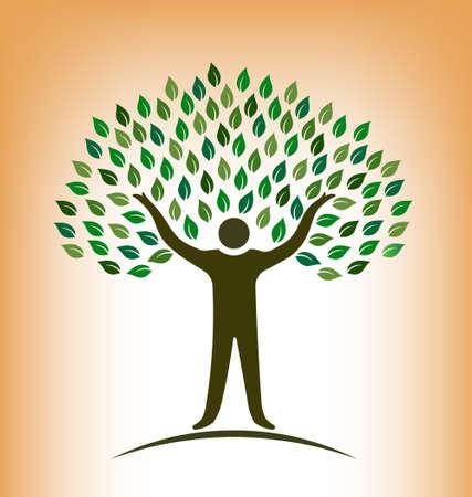 family gardening: People Tree illustration