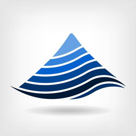 Superposition vecteur de montagne icône Banque d'images - 27560232
