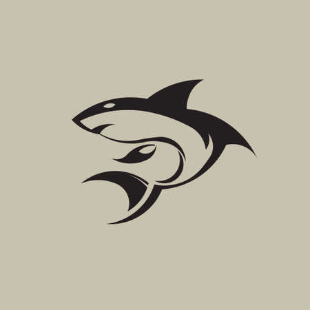 Shark icon image  Vector