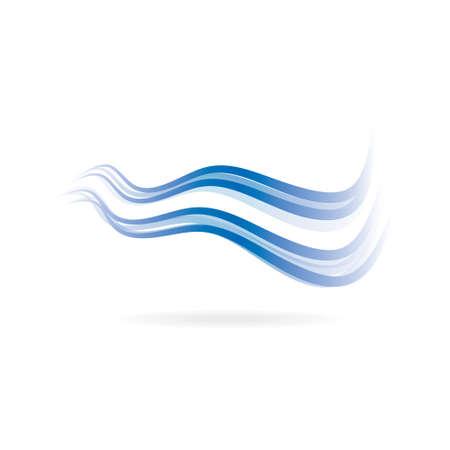 bandera de uruguay: Flag swoosh imagen azul y azul