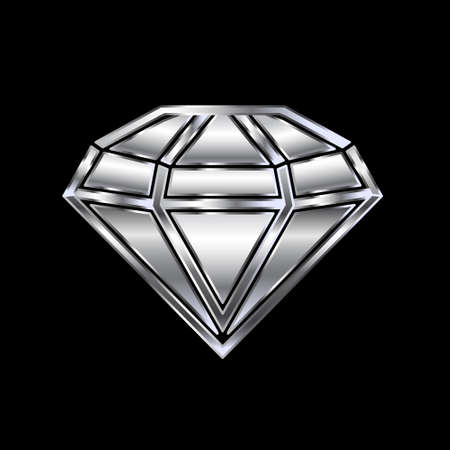 prestige: Diamond image  Concept of luxury, wealth, value