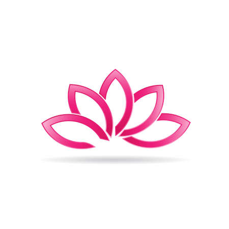 Luxury Lotus plant image  Иллюстрация