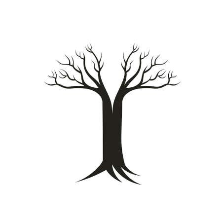 regeneration: Albero della Vita simbolo Concetto di vita propria, la rigenerazione Vettoriali