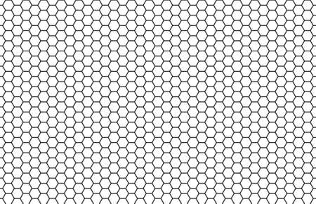 hexagonal pattern: Seamless White Black Hexagon Texture