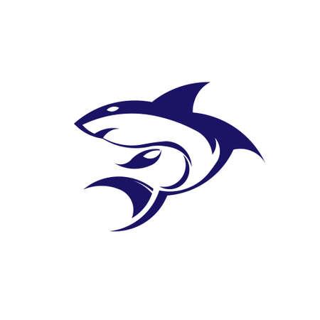 Shark  Vector icon image