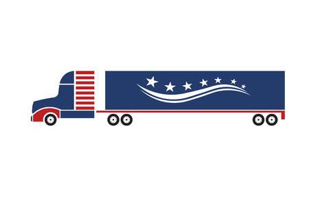 semi: Delivery truck concept image