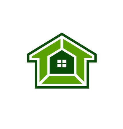 House security system image  Concept of house protection   Vector
