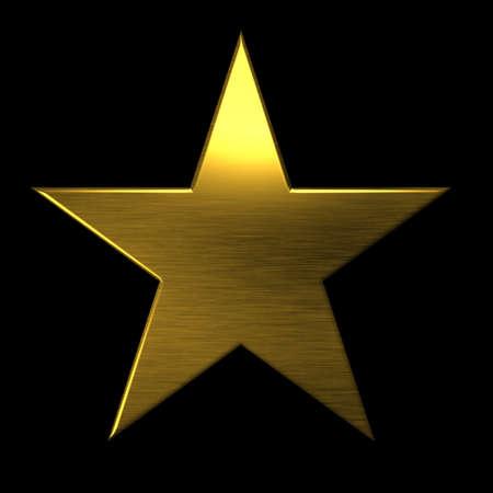 silver star: Golden textured star icon