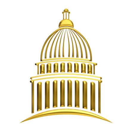 u s: Golden Capitol building