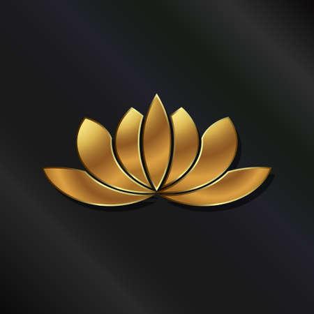 buddha lotus: Luxury Gold Lotus plant image