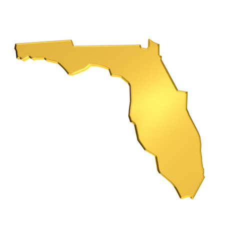 Florida golden Map