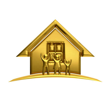 sold small: Golden House and Family concept of weathy people