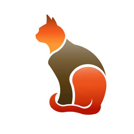 silueta de gato: Perfil de Cat