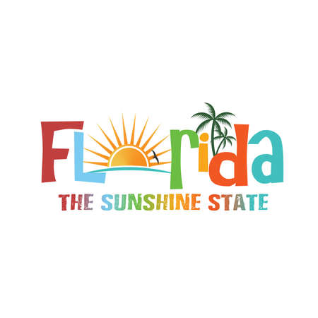 postcard: Florida theme name