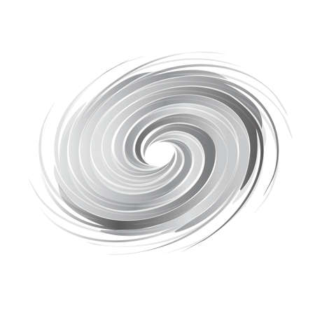 twister: Abstract circle swirl image. Concept of hurricane, twister, tornado