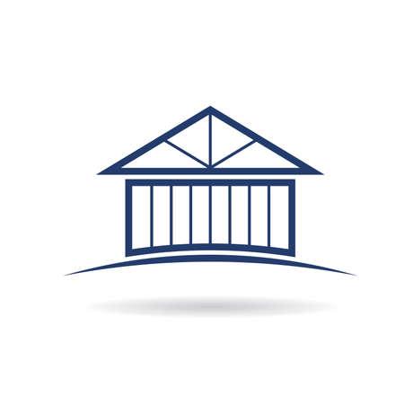 bracing: House frame icon