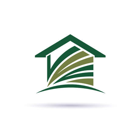 curvas: Casa verde