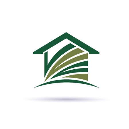 House green Illustration
