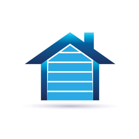 residential homes: House garage