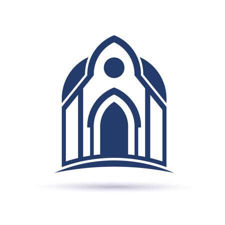 Church Cupula facade icon