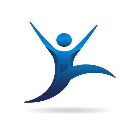 ejercicio aer�bico: La gente saltando de fitness