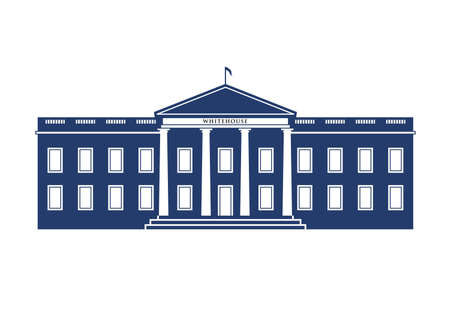 white house: White House building