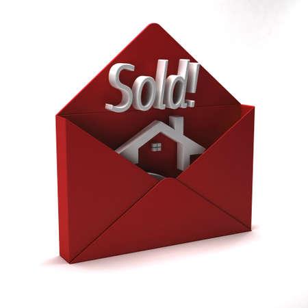 3D House sold communication