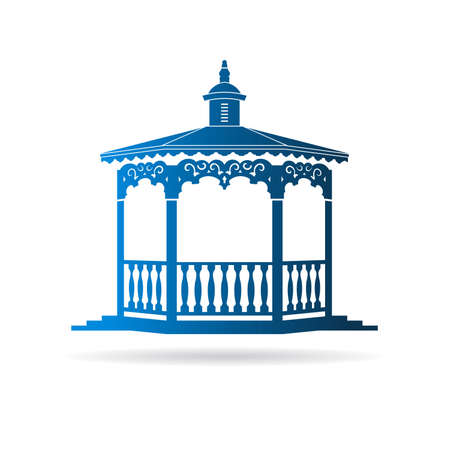 Wedding gazebo Stock Vector - 42091640