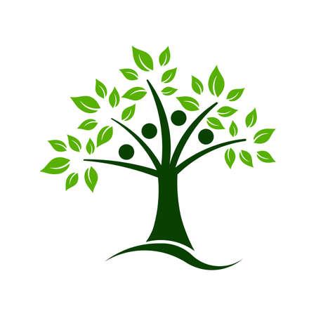 educacion ambiental: El trabajo en equipo Árbol
