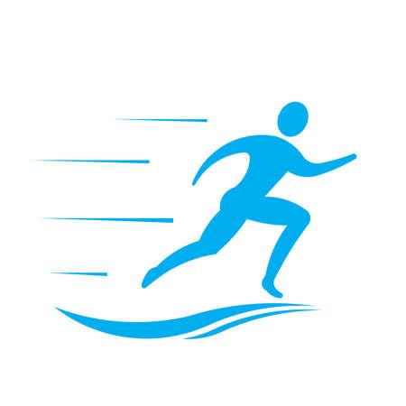 Man runner logo
