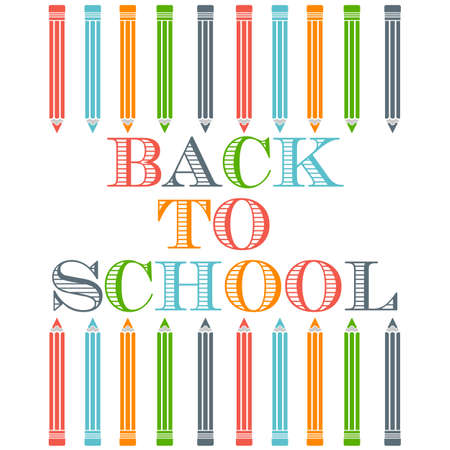 first day: Back to school logo