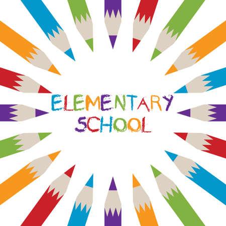 elementary: Elementary school logo