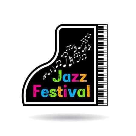 conservatory: Jazz music festival poster