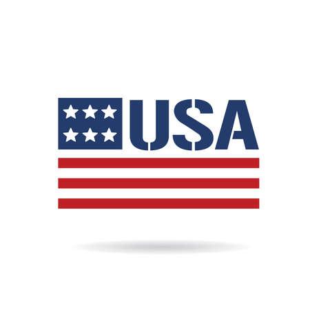 us flag: USA flag icon