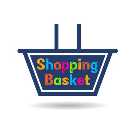 Shopping basket graphic