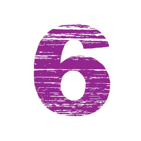 to scrape: Grunge Logo Number6. Scrape Style.