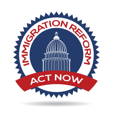 unlawful act: Immigration Reform Seal
