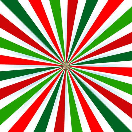 burst background: Christmas Colors, colored sun burst background.