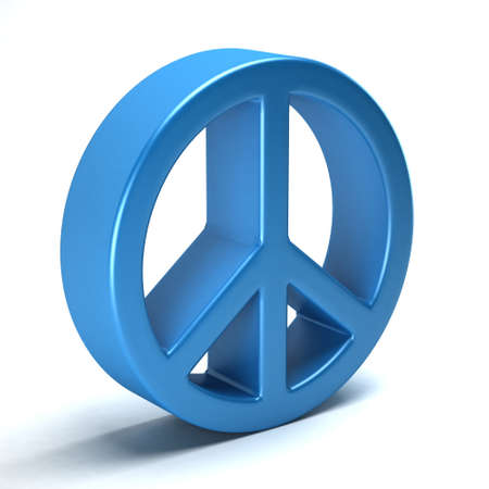 disarmament: Peace symbol of love, hippie from the 60s
