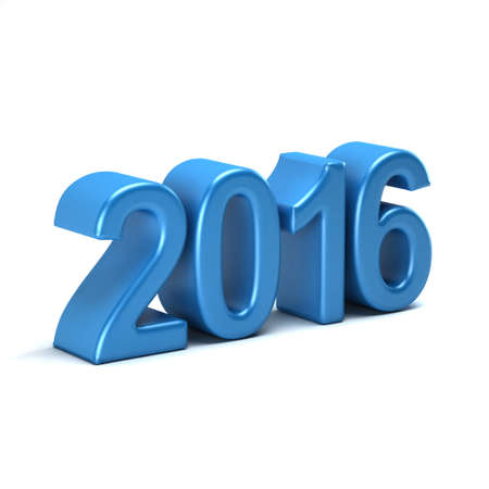 turns of the year: 2016 year style sign