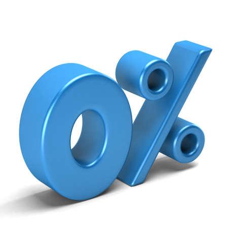 liquidation: Zero percent interest. Banking and Credit card sign
