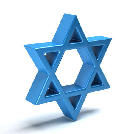 hanuka: Star of David, judeism symbol