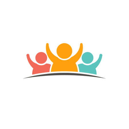 People group graphic logo