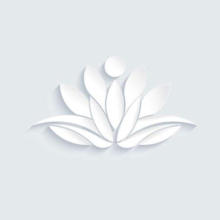 Konzept der Spiritualität, Ruhe, Entspannung. Grafikdesign