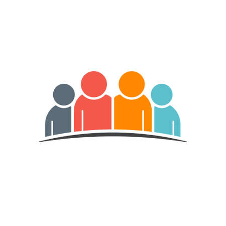 People Group Vector graphic Illustration