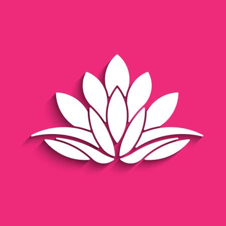 karma concept: Concept of spirituality, peace, relax. Vector graphic design