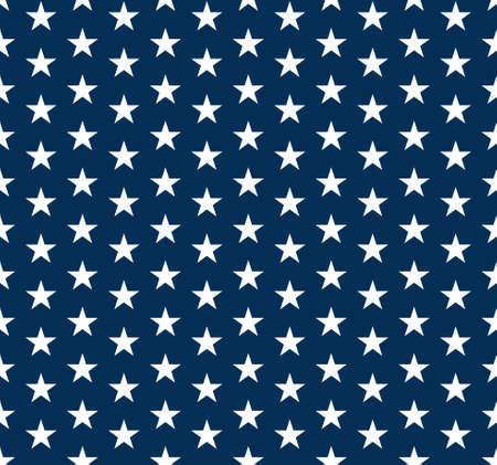 graphic pattern: USA Stars seamless pattern. Vector graphic design
