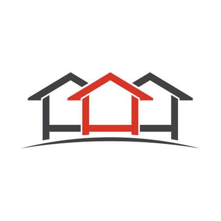 Houses design graphic