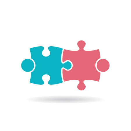 People Group Teaming Logo. Vector graphic design illustration