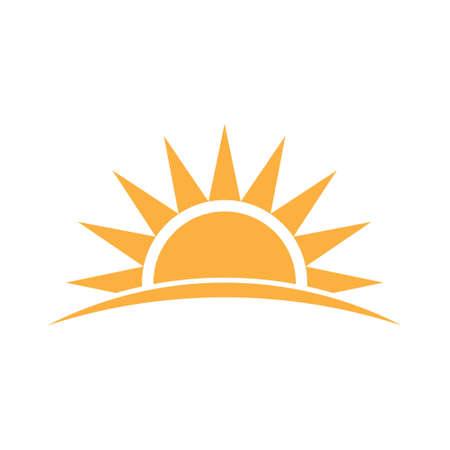 sunshine: Sunshine logo. Vector graphic illustration Illustration